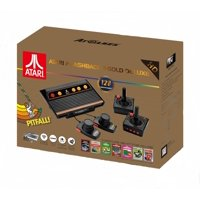 Atari Flashback 8 Gold DELUXE with 120 Games - Includes 2 Controllers and 2 Paddles