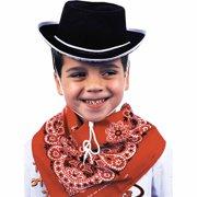 0b787dc0e9b Black Cowboy Hat Child Halloween Accessory