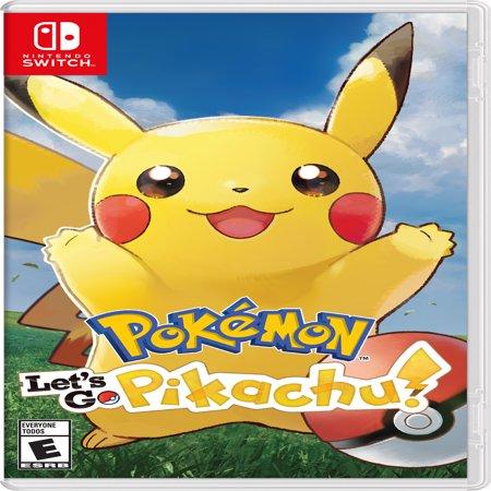 Pokemon: Let's Go Pikachu!, Nintendo, Nintendo Switch, 045496593940 - Thunderbolt Pokemon
