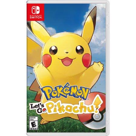 Pokemon Let S Go Pikachu Nintendo Nintendo Switch 045496593940
