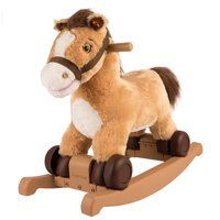 Rockin' rider charger 2-in-1 pony ride-on