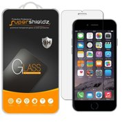 [2-Pack] Supershieldz Apple iPhone 6 Plus / 6S Plus Tempered Glass Screen