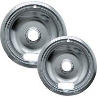 Range Kleen 12782xcd5 Chrome Drip Pans, 2pk (Style A)