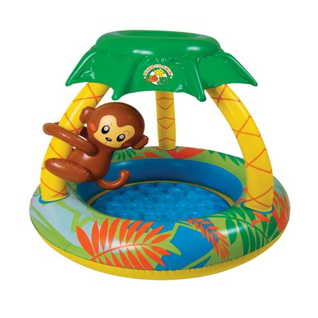Poolmaster Go Bananas Monkey Inflatable Kiddie
