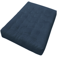 """Gold Bond 4"""" All Cotton #604 Tweed Microfiber Futon Mattress, Multiple Sizes and Colors"""
