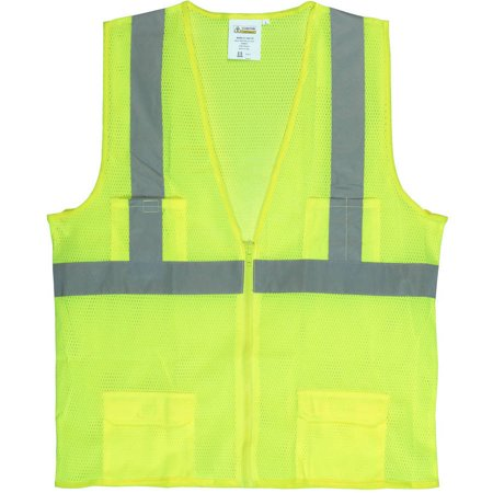 - Cordova Class II Lime Mesh Surveyor's Vest with 2