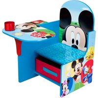 Disney Mickey Mouse Chair Desk with Storage Bin by Delta Children
