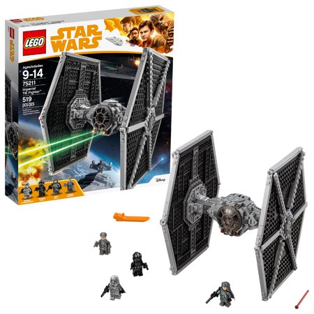 LEGO Star Wars TM Imperial TIE Fighter 75211 (519 Pieces) - Lego Snacks