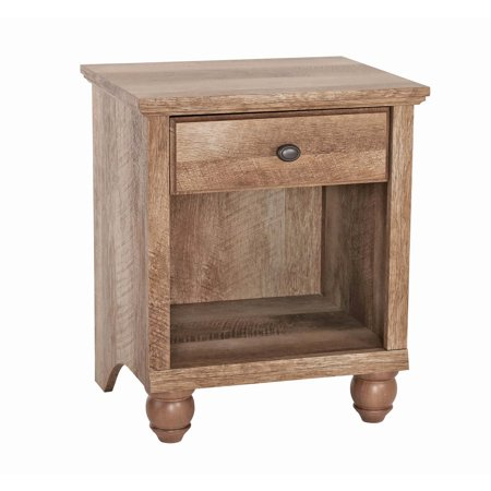 - Better Homes & Gardens Crossmill Accent Table, Weathered Finish