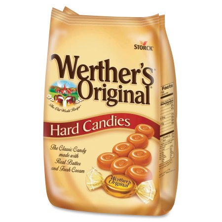 Storck Werther's Original Caramel Hard Candies, 34 Oz.