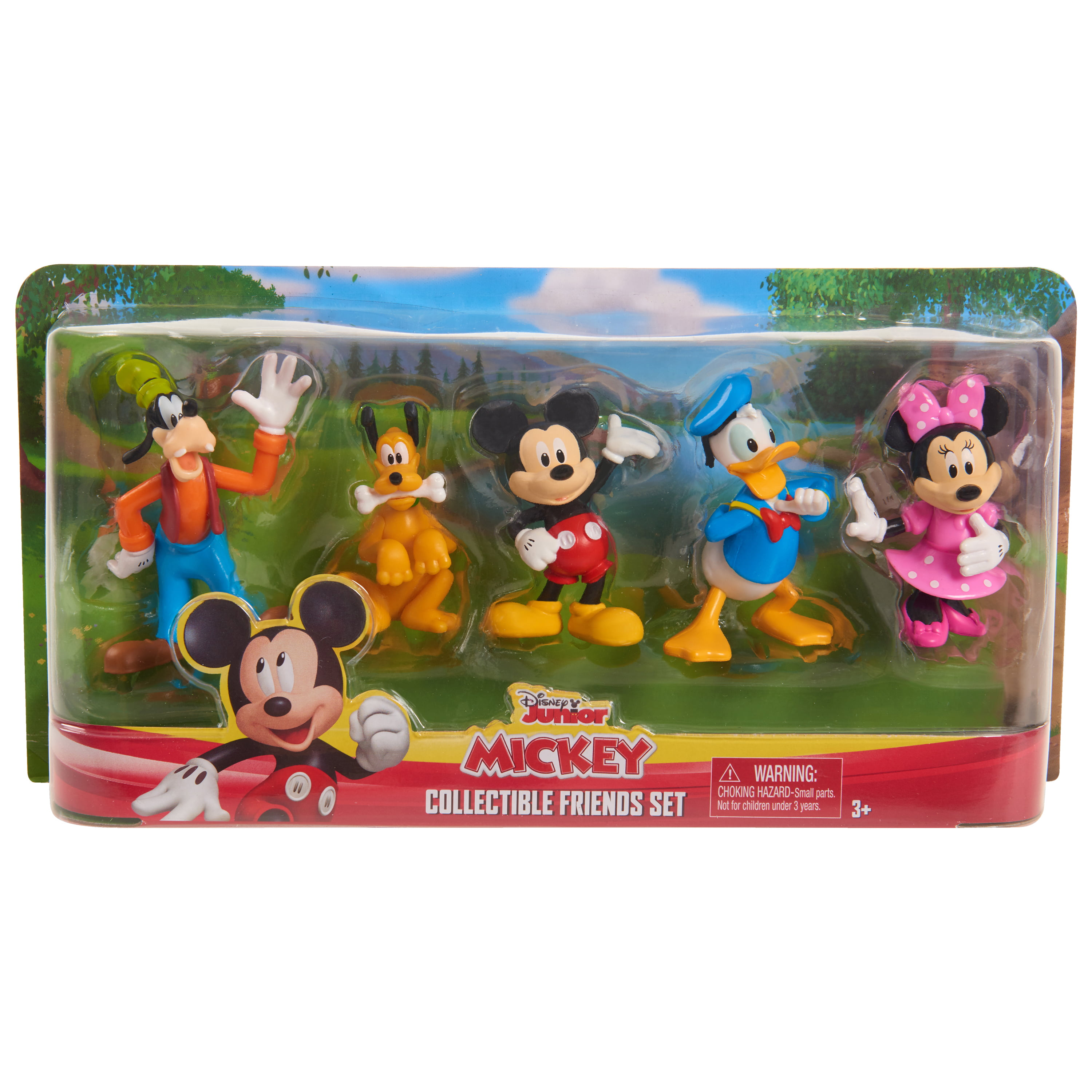 Disney Mickey Mouse Collectible Friends Set 5pc
