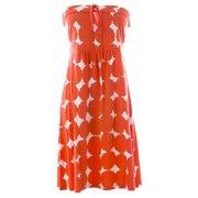 c547a4cbea2 BODEN Women s Strapless Beach Dress US Sz 10R Orange White