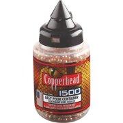 CROSMAN COPPERHEAD BBS .177 COPPER-COATED STEEL 1500 CARTON