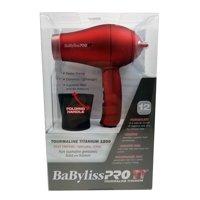 Babyliss Pro tt tourmaline titanium micro hair dryer, red