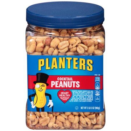 Dark Horse Peanuts - Planters Salted Cocktail Peanuts, 35.0 oz Jar