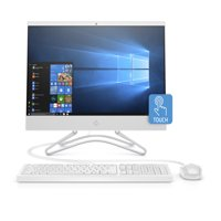 "HP 22 All-in-One PC 21.5"" Touch , Intel Core i3-8100T, Intel UHD Graphics 630, 1TB HDD, 4GB SDRAM, 22-c0023w"