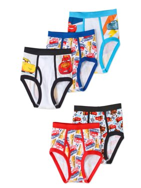 Disney Cars Boys' Underwear, 5 Pack