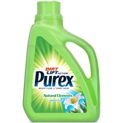 Purex Liquid Laundry Detergent, Natural Elements Linen & Lilies, 75 Fluid Ounces, 50 Loads