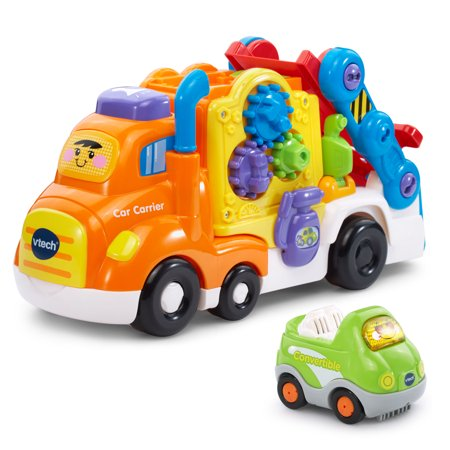 VTech Go! Go! Smart Wheels Deluxe Car Carrier - Learn Car Carrier