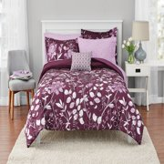 Mainstays Kamala Bed in a Bag Coordinating Bedding Set