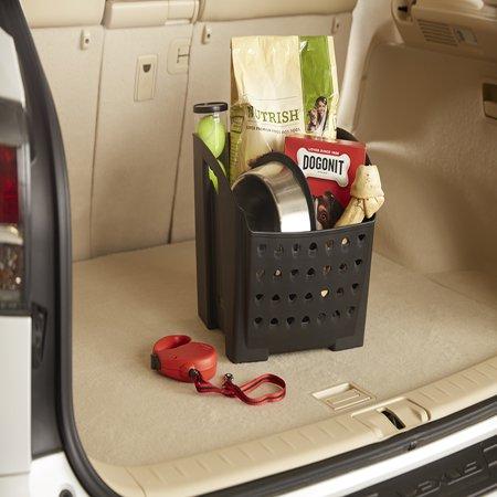 Rubbermaid Cargo Bin Car Interior Organization Non-Slip Rubber Feet Perfect for Trunk and Groceries