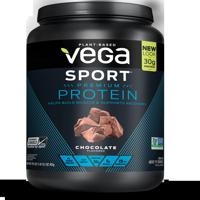 Vega Sport Vegan Protein Powder, Chocolate, 30g Protein, 1.8 Lb