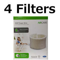 Aircare MAF1 Replacement wicking Humidifier Filter Genuine 4 Pack