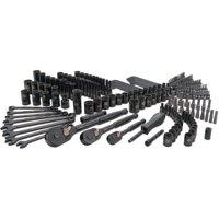 STANLEY STMT75402W 201-Piece Black Chrome Universal Mechanic's Tool Set