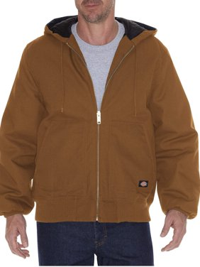 Product Image Dickies Men\u0027s Rigid Duck Hooded Jacket Mens Jackets \u0026 Coats - Walmart.com