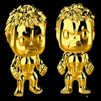 Funko Pop! Marvel: Marvel Studios 10 - Hulk (Chrome Gold)