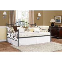 DHP Victoria Metal Daybed Finial Design, Full Size, Multiple Colors