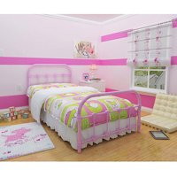 Melissa Metal Twin Bed, Multiple Colors