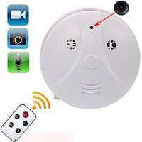 Mini HD DVR Hidden Camera Smoke Detector Motion Detection Wireless Indoor Home Security Alarm System Digital Video Sound Recorder Camcorder