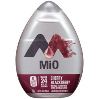 (12 Pack) MiO Cherry Blackberry Liquid Water Enhancer, 1.62 fl oz Bottle