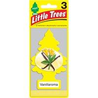 Little Trees Car Air Freshener, Vanillaroma, 3 pk