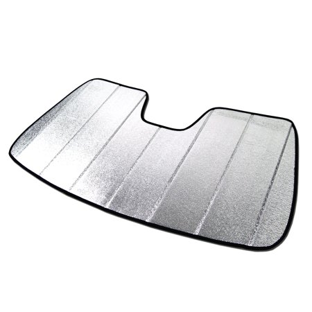 TuningPros SS-018 Custom Fit Silver and Grey Windshield Sun Shade Heat  Shield For 2016 d058fd4a133