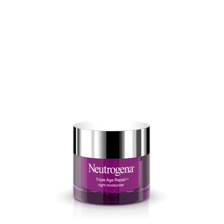 Neutrogena Triple Age Repair Vitamin C Night Moisturizer for Face, 1.7
