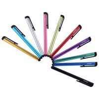 Insten 10-Piece Colorful Universal Touch Screen Stylus Pens For iPhone 6 6S Plus 7 SE 5S Samsung Galaxy S3 S4 S5 S6 S7 Edge Note 5 4 3 2 J7 Smartphone Tab A E View TabPro Tablet Lenovo RCA TG-TEK iPad