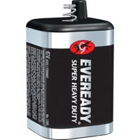 6 Pack - Eveready Super Heavy Duty Battery 6 Volt [1209] 1 ea
