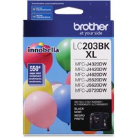 Brother LC203BK Lc203bk Innobella High-Yield Ink, Black