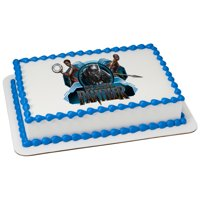 MARVEL Black Panther Wakanda Warriors 1/4 Sheet Custom Cake Cupcake Edible Sheet Image Birthday Kids Children Wedding Baby Shower Party Toppers Favors