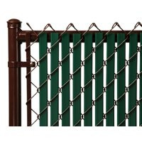 Green 6ft Tube Slat for Chain Link Fence