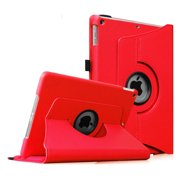 iPad mini 3 / iPad mini 2 / iPad mini Rotating Case - Fintie 360 Degree Swivel Cover with Auto Sleep/Wake, Red