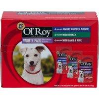 (3 Pack) Ol' Roy Gourmet Wet Dog Food Pack, 12 count
