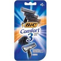 BIC Comfort 3 Disposable Razor, Men, 4-Count