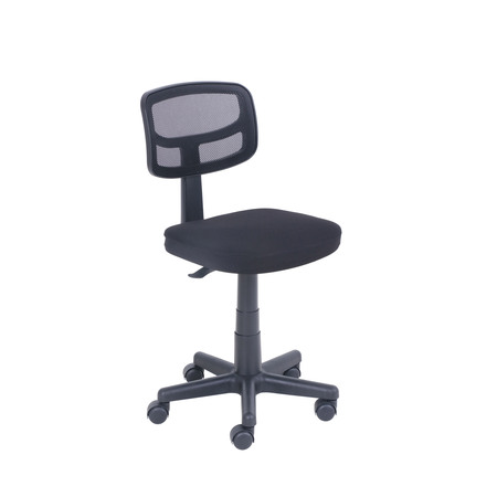 - Mainstays Mesh Task Chair with plush padded seat, black
