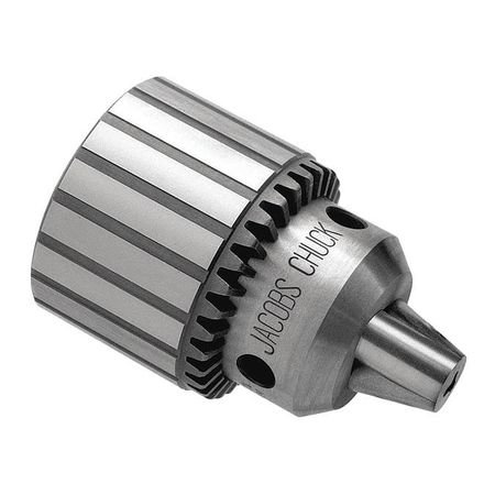 JACOBS Drill Chuck,Keyed,Steel,3/8 In,3/8-24 32282C