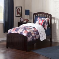Richmond Traditional Bed with Matching Foot Board in, Multiple Colors and Sizes