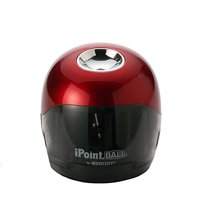 Westcott iPoint Ball Battery Sharpener, Red/Black, 1-Count