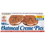 Little Debbie: Oatmeal Creme Pies 12 Ct Snacks, 36 Oz